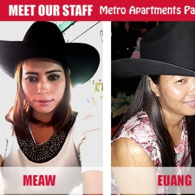 Staff at the Metro Apartments Pattaya