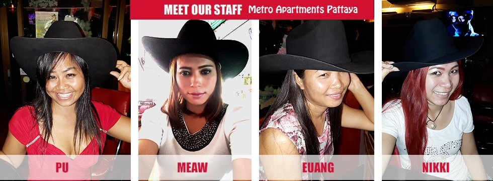 Staff at the Metro Apartments Pattaya