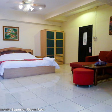 Superior Room Rear | Metro Apartments Pattaya