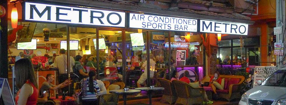 Metro Apartments Pattaya outside