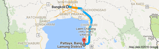 Traveling from Bangkok to Pattaya | Costs Options | Distance & Routes.