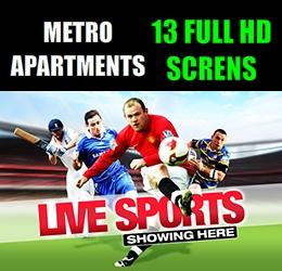 Live Sports at Metro Apartments Pattaya